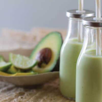 Batido de Aguacate (Avocado Milkshake) - Prepare to be pleasantly surprised by the sweet creamy flavor of this shake recipe with everyone's favorite food, AVOCADO.