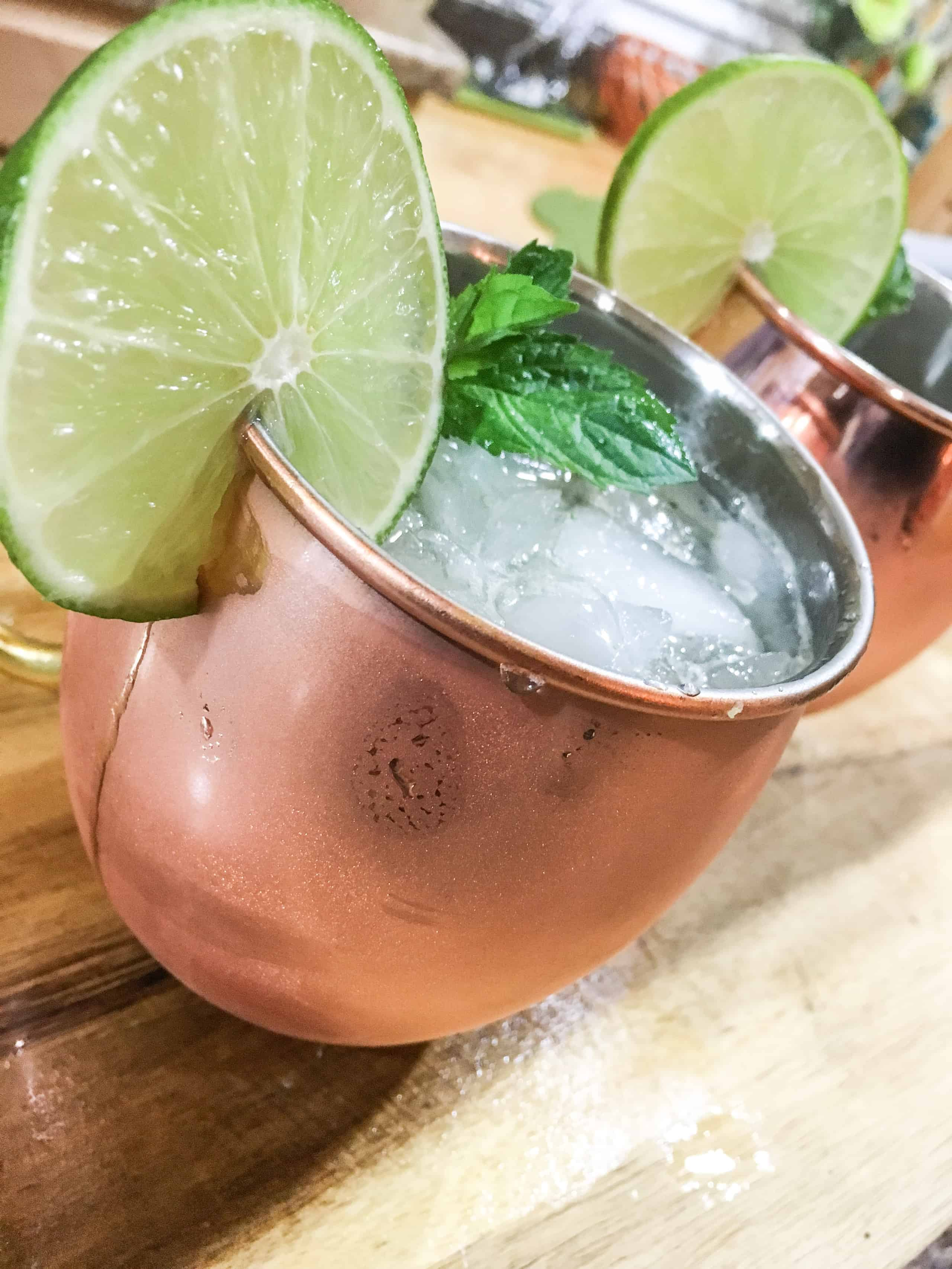 A Kentucky Mule is the perfect summer drink with aromatic mint and a kick of spice from ginger beer. Beyond refreshing!