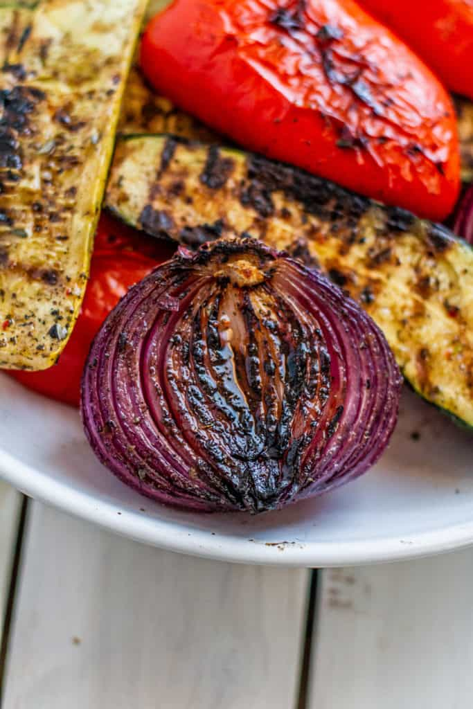 grilled winter vegetables